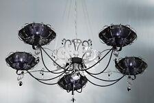 Lampadario contemporaneo design moderno foglia argento BELL dream 1306/L5L