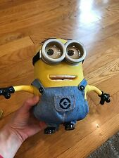 Despicable Me 2 Minion Dave talking laughing Thinkway toys-Not working