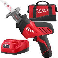 12 V Hackzall M12 Reciprocating Saw Kit Milwaukee 2420-21 New