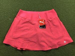 Puma Pwrshape Pleat Wave Skirt Azalea Pink Women's SZ L ( 595167 05 )