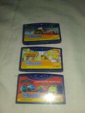 Vtech Vreader Game Cartridges Cars Disney Chuggington What's That Noise