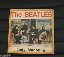 THE BEATLES -  Lady Madonna/The inner light - Parlophon QMSP 16423