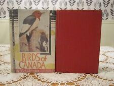 BIRDS of CANADA P.A. Traverner 1949 HC/DJ 173 Color Plates 488 B&W Illustrations