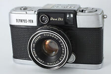 Olympus PEN D2 Half Frame Film camera w/ F.Zuiko 32mm F1.9 from Japan m029