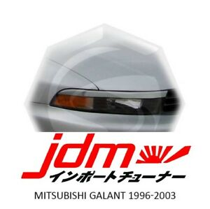 Mitsubishi Galant Eyebrows Eyelids Eyeline Unpainted 1996-2003 2pcs