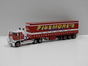 "1:64 Kenworth Freight Semi ""Finemores"" Highway Replicas 12018"
