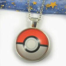 Pokemon Pokeball Necklace