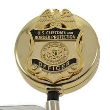 CBP Badge Reel Retractable Security ID PIV Card Holder Customs Border Patrol