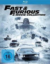 8 Blu-rays * FAST & FURIOUS - 8 MOVIE COLLECTION | PAUL WALKER # NEU OVP +