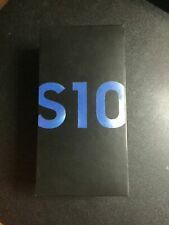 Samsung Galaxy S10 SM-G973U - 128GB - Prism Blue Factory Unlocked (Single SIM)
