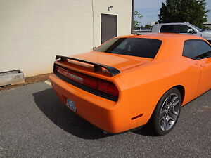 09-16 Dodge Challenger New Go-Wing Rear Spoiler Matte Black Mopar Factory Oem