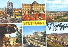 AK, Stuttgart, sechs Abb., ca. 1970