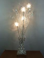 """Stehleuchte aus Alu-Drahtgeflecht """"Dahlia"""" 4 flg Dekorative Lampe, Blumenleuchte"""