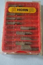 Inserto de carburo de cuerno-R105 UK00.1246.MG12 (paquete de 9)