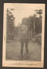ETHNIQUE (CONGO FRANCAIS) FEMME BACOULI