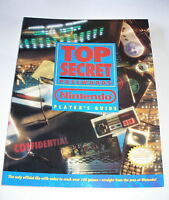1992 Top Secret Passwords Nintendo NES SNS GBS Player's Guide Very Good
