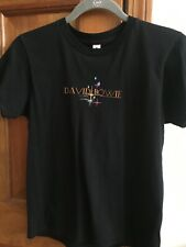 David Bowie authentic concert tour shirt. Ladies small, black. Only worn once