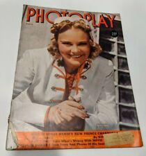 Photoplay - March 1939 (Sonja Henie)