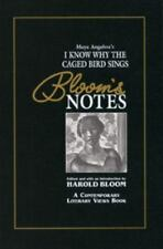 I Know Why Th Caged Bird Sings (Bloom's Notes)-ExLibrary