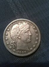 Barber Two Faced Quarter Dollar Coin 1896 / 1897 Magic