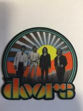 More details for official licensed - the doors - waiting for the sun iron / sew-on patch morrison