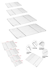 New listing Cooling Rack 4 Pack Stainless Steel Baking Racks for Cooking Baking Roasting