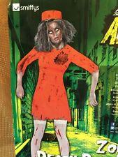 Zombie Death Row Diva costume - womens small - Smiffys 40053 - NIP