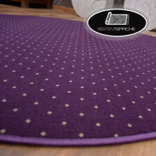 Rund Langlebig Modern Teppichboden AKTUA lila große Größen! Teppiche nach Maß