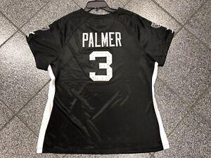New XXL NFL Team Women LADIES LA Raiders Jersey BLING Studs Carson palmer Vegas