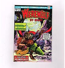 """Werewolf By Night #19 """"Werewolf Battles Vampires!"""" Grade 9.2 Bronze Age find!"""