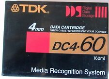 CINTA VIRGEN DAT AUDIO (60m.)  y DATOS 4mm.TDK DC-4 60