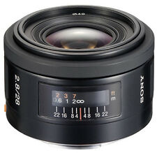 Sony 28mm f/2.8 SAL28F28 Lens For Sony A-Mount