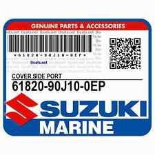 Cover, Side Port (Black) 61820-90J10-0EP Suzuki Outboard
