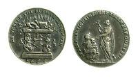 pcc1838_54) Medaglia Trattato di Rijswijk 1697 Silver mm 20