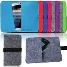 Filz Tasche für Smartphone Cover Hülle Case Schutzhülle Handy Flip Filztasche