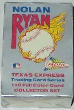 1991 Pacific MLB Nolan Ryan Texas Express 110-Card Boxed Set Brand New & Sealed