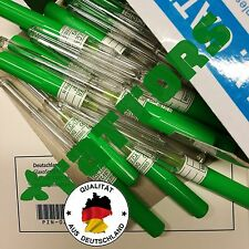 5 Sterile Piercing Nadeln, Kanülen, Piercingnadeln G18 18G TATTORS®med EU