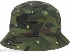 Official Brand Camouflage Trout Bucket Style Hat Fishing Cap L/XL