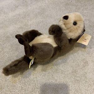 "Miyoni by Aurora Sea Otter 12"" Plush Toy Stuffed Animal Handmade 2016"