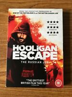 Hooligan Escape DVD The Russian Job (2018) New and Sealed