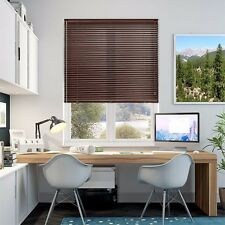 NEW Wood effect oak Venetian blinds- 25mm slats