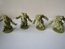 Zombicide Green Horde / Black Plague KS Exclusive Orc Fatties 4 Stk