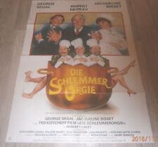 A1-Filmplakat  DIE SCHLEMMER ORGIE , GEORGE SEGAL,ROBERT MORLEY,J BISSET