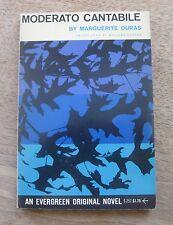 MODERATO CANTABILE by Marguerite Duras - 1st/1st PB 1960 grove evergreen  -FINE