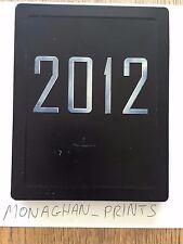 2012 Steelbook - Blu-Ray G2 - HMV Exclusive