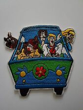 Scooby Doo and the mystery Machine Iron On Patch Sew on Transfer Badge