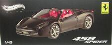 Ferrari 458 spider (Noir mat)