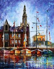 "ANTWERP - BELGIUM — Oil Painting On Canvas By Leonid Afremov.  24""x30"""