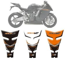 3D Fuel Tank Protector Sticker Decal Gel Pad for KTM RC8 1190 2008 - 2015