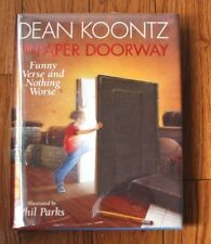"SIGNED ""The Paper Doorway"" Funny Verse and Nothing Worse by Dean KoontzNEWHCDJBC"